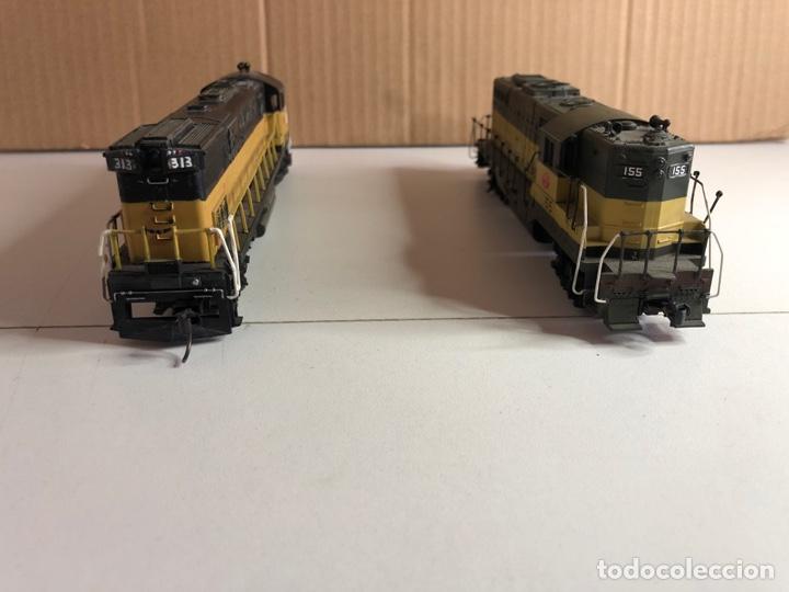 Trenes Escala: 2 locomotoras H0 corriente continua - Foto 17 - 253442100