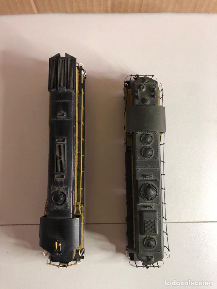 Trenes Escala: 2 locomotoras H0 corriente continua - Foto 19 - 253442100