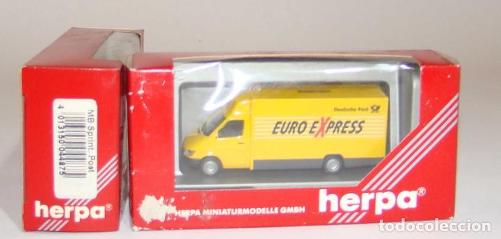 HERPA FURGONETA EURO EXPRESS ESCALA H0 (Juguetes - Trenes Escala H0 - Otros Trenes Escala H0)