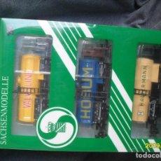 Trenes Escala: SET 3 CISTERNAS H0. Lote 253816265