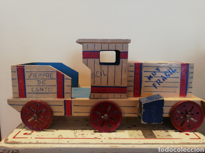 Trenes Escala: GRAN LOCOMOTORA TREN DE MADERA - Foto 2 - 254170295