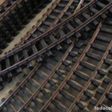 Trenes Escala: LOTE DE DIEZ VIAS DE LGB LA 1600. Lote 254250655