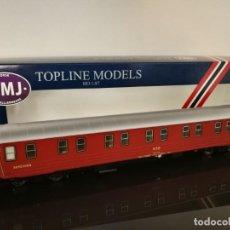 Trenes Escala: VAGÓN COCHE CAMAS NMJ TOPLINE MODELS DE LA NSB. Lote 254688270