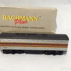 Trenes Escala: BACHMANN SANTA FE LOCMOTORA TRASERA PLUS GN 316 B ITEN NO. 31207. VER DESCRIPCION. Lote 255448340