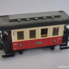 Trenes Escala: PRECIOSO VAGÓN DE PASAJEROS LGB. LEHMANN. 28 CM.. Lote 255505555