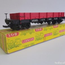 Trenes Escala: PRECIOSO VAGÓN LGB LEHMANN. GERMANY. REF. 4061.. Lote 255512590