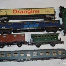 Trenes Escala: LOTE VAGONES / COCHES VIAJEROS / ESCALA H0 - IBERTREN, LIMA Y FLEISCHMAN - ¡MIRA FOTOS / DETALLES!. Lote 257809930