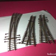 Trenes Escala: LOTE DESVIOS ESCALA HO. Lote 261589410