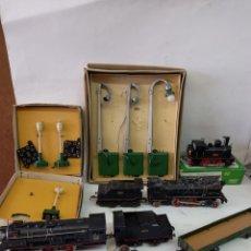 Trenes Escala: LOTE DE TRENES ANTIGUOS PAYA. Lote 261790710