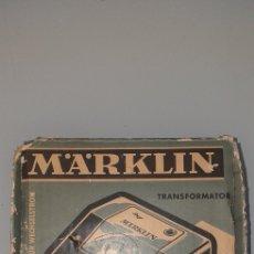 Trenes Escala: TRANSFORMADOR MARKLIN 6115 DE 125 VOLT - CON CAJA Y ADAPTADOR. Lote 262175365