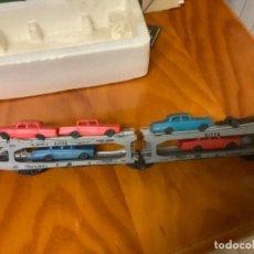 Trenes Escala: VAGON DE COCHES MARCA LIMA. Lote 262488770