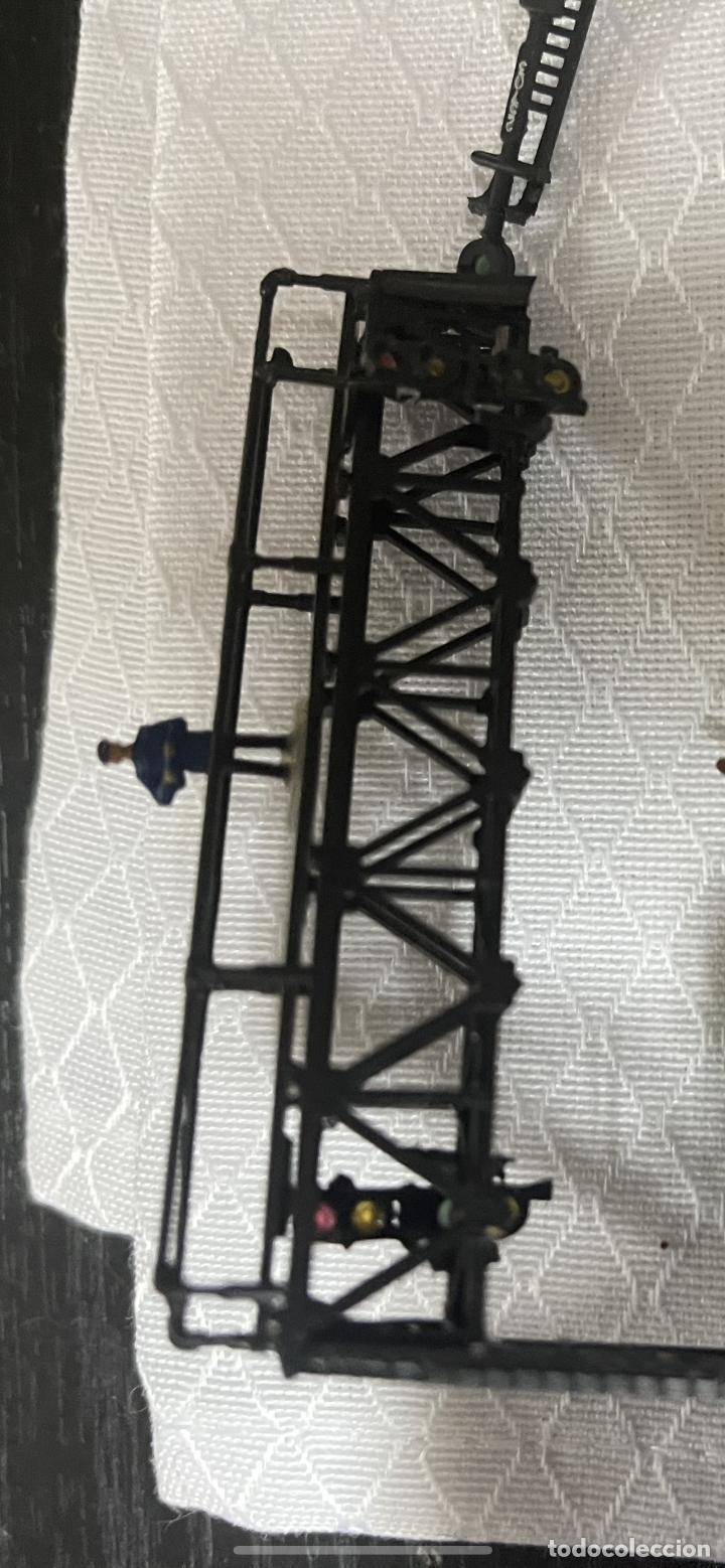 Trenes Escala: lote estacion tren Diorama ,casas túneles estación muñecos maquetas tren,ibertren? - Foto 44 - 262918250