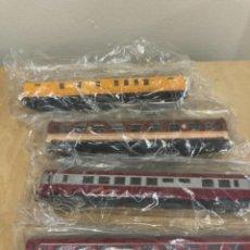 Trenes Escala: LOTE DE 4 VAGONES DE TREN. Lote 263001460