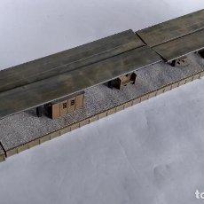 Trenes Escala: ANDÉN H0 58 CMS LARGO, APROX. VÁLIDO IBERTREN,ROCO, FLEISCHMANN, ETC. Lote 263147095