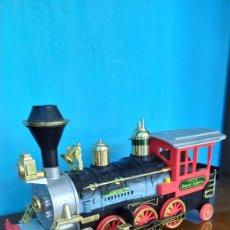 Trenes Escala: TREN O LOCOMOTORA ANTIGUA DEMBER EXPRESS. Lote 263607485