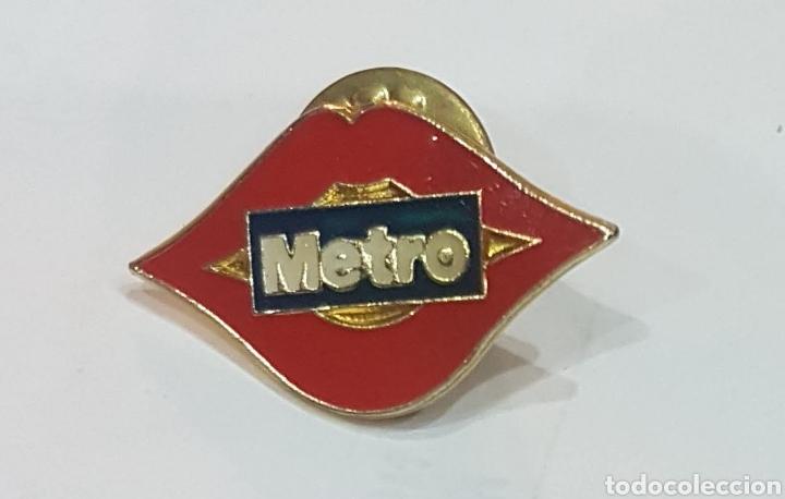PIN METRO MADRID (Juguetes - Trenes - Varios)