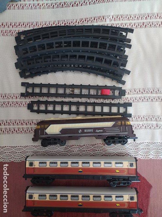 LOTE JYESA RENFE Y VAGONES AL ANDALUS LEER DESCRIPCIÓN (Juguetes - Trenes Escala H0 - Otros Trenes Escala H0)