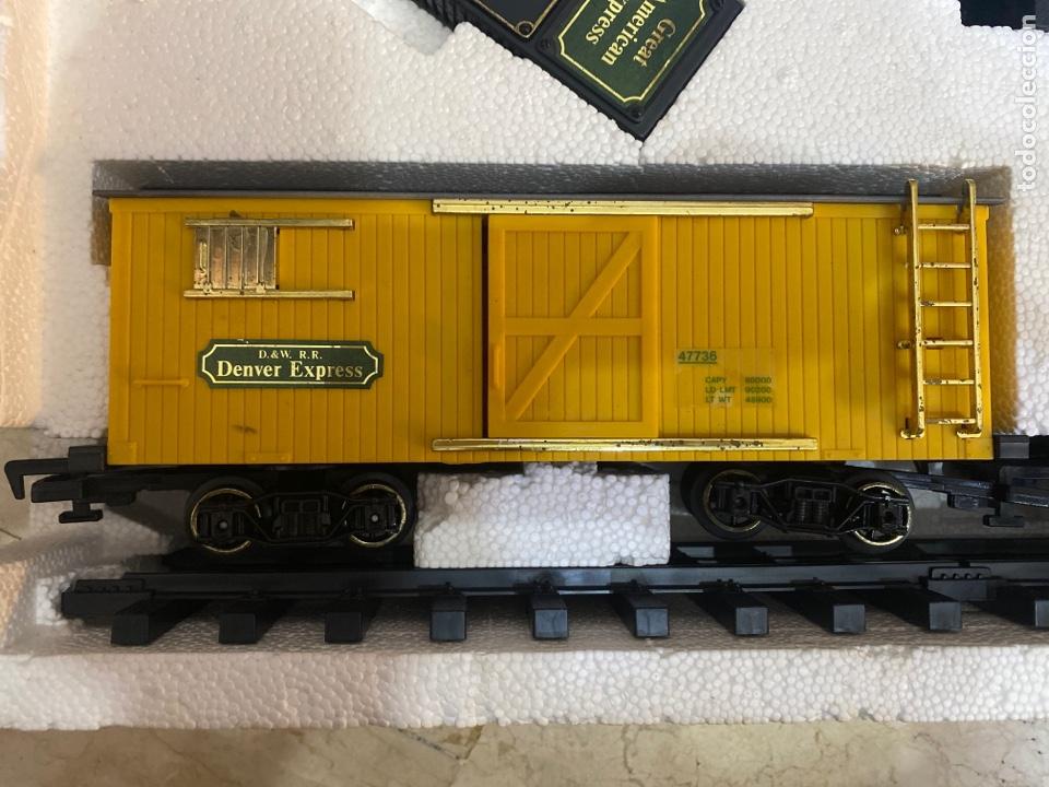 Trenes Escala: TREN - the great American Express - 3170 por New Bright - 1987 - Foto 4 - 265202589