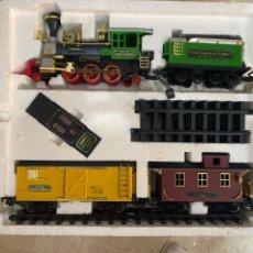 Trenes Escala: TREN - THE GREAT AMERICAN EXPRESS - 3170 POR NEW BRIGHT - 1987. Lote 265202589