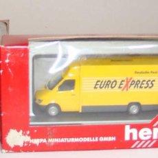 Treni in Scala: HERPA FURGONETA EURO EXPRESS ESCALA H0. Lote 265206609