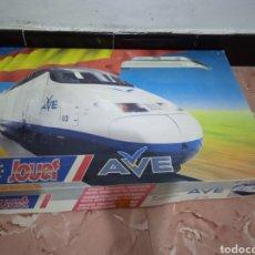 Comboios Escala: JOUEF REF:7405-SET CON LOCOMOTORA.DOS VAGONES Y CABECERA DEL AVE RENFE-ESCALA HO. Lote 266332998