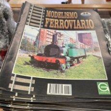 Trenes Escala: COLECCIÓN MODELISMO FERROVIARIO, COMPLETA FALTANDO EL NÚMERO 47. Lote 267037719