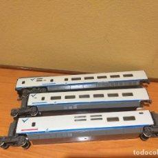 Comboios Escala: 3 COCHES AVE DE LA MARCA MEHANO. ESCALA H0. Lote 267517234