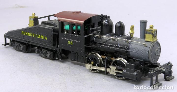 Trenes Escala: Locomotora vapor con tender Pennsylvania 96 Mehano corriente continua No funciona - Foto 2 - 268718264