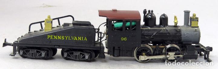 Trenes Escala: Locomotora vapor con tender Pennsylvania 96 Mehano corriente continua No funciona - Foto 3 - 268718264