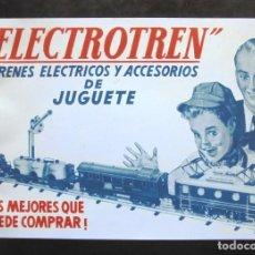 Treni in Scala: CATÀLEG ELECTROTREN TRENES ELÉCTRICOS Y ACCESORIOS DE JUGUETE CATÁLOGO LOS MEJORES QUE PUEDE COMPRAR. Lote 269055183