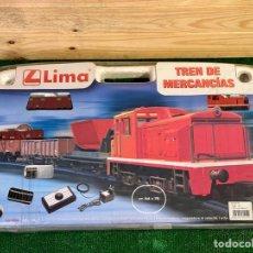 Trenes Escala: TREN DE MERCANCÍAS LIMA REF. HL1039 . SIN USAR. Lote 269456118