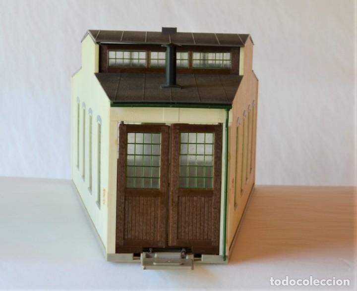 Trenes Escala: Kleinbahn Edificio Escala 1:87 H0 Deposito Locomotora - Foto 2 - 269467898
