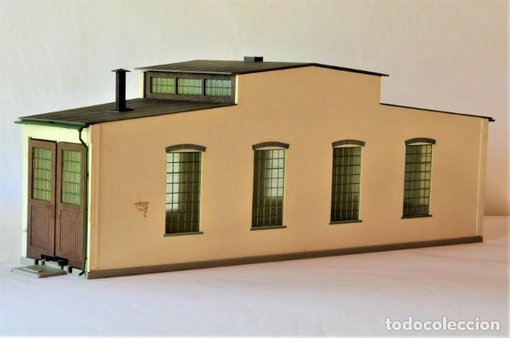 Trenes Escala: Kleinbahn Edificio Escala 1:87 H0 Deposito Locomotora - Foto 6 - 269467898