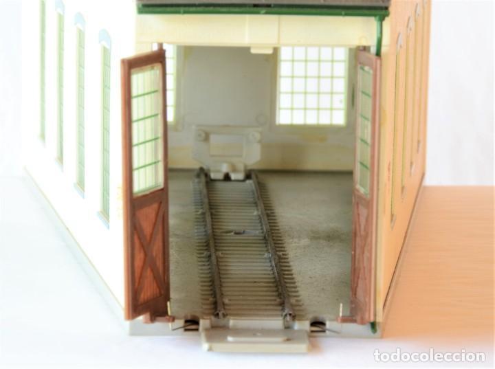 Trenes Escala: Kleinbahn Edificio Escala 1:87 H0 Deposito Locomotora - Foto 9 - 269467898