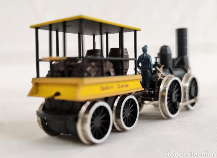 Trenes Escala: LOCOMOTORA VAPOR BACHMANN REF 41-500 DEWITT CLINTON - Foto 4 - 269620173