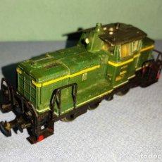 Trenes Escala: LOCOMOTORA DIESEL DE MANIOBRAS JOUEF ORIGINAL. Lote 269678278