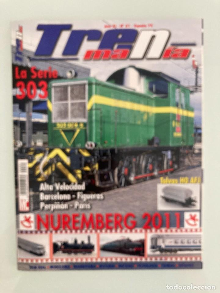 TRENMANIA 61,RENFE 303,EXPRESO ALPINE PEARLS II,NUREMBERG,MF TRAIN,TOLVA MINISTERIO AGRICULTURA HO (Juguetes - Trenes Escala H0 - Otros Trenes Escala H0)