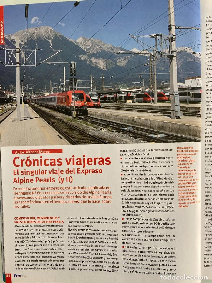 Trenes Escala: TRENMANIA 61,RENFE 303,EXPRESO ALPINE PEARLS II,NUREMBERG,MF TRAIN,TOLVA MINISTERIO AGRICULTURA HO - Foto 5 - 269688063
