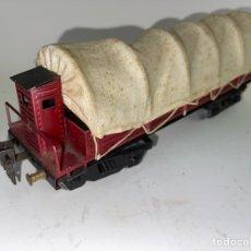 Trenes Escala: VAGON DE TREN DE METAL. PRINCIPIOS S.XX.. Lote 269709958