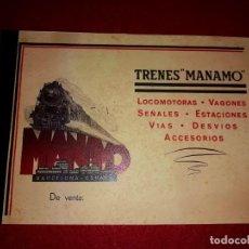 Trenes Escala: CATALOGO TRENES MANAMO. Lote 269842748