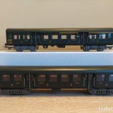 Trenes Escala: JOUEF H0 2 COCHES DE VIAJEROS, DE LA SNCF, REFERENCIAS 5102 Y 5103.. Lote 269933753