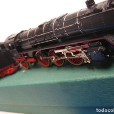 Trenes Escala: TRIX VAPOR MUY ANTIGUA ,CONTINUA TRES RAILES HO. Lote 270152983