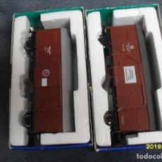 Trenes Escala: 2 VAGONES SACHENMODELLE H0. Lote 270224853
