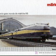 Trenes Escala: MARKLIN - ANUARIO 2005. Lote 271513188