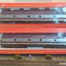 Trenes Escala: IHC H0 LOCOMOTORA DIÉSEL EMD E-8 Y DUMMY, DE LA ATLANTIC COAST LINE, REFERENCIA M1945 DC ANALÓGICA.. Lote 271602133