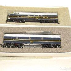 Trenes Escala: LOCOMOTORAS EMD ELECTRO-MOTIVE DIESEL F7A Y F7 B DE LA CIA BALTIMORE & OHIO EN ESC. *H0* DE BACHMANN. Lote 271609678