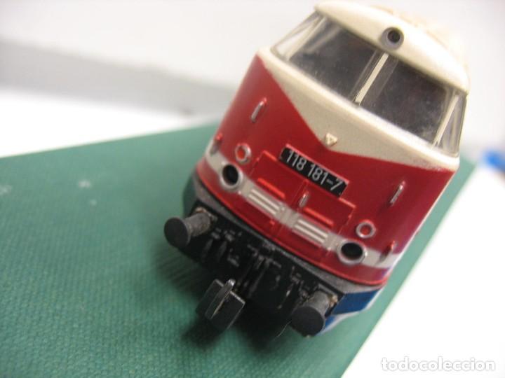 Trenes Escala: locomotora HO diesel de la deusche - Foto 11 - 272736688