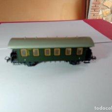 Trains Échelle: VAGÓN PASAJEROS 2 EJES ESCALA HO DE PIKO. Lote 273410548