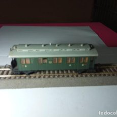 Trains Échelle: VAGÓN PASAJEROS 2 EJES ESCALA HO DE TRIX. Lote 273649208