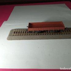 Trains Échelle: VAGÓN BORDE BAJO ESCALA HO. Lote 273737763